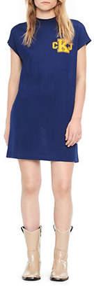 Calvin Klein Jeans Crew Neck Logo T-Shirt Dress