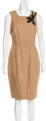 Jason Wu Beaded Camel Dress