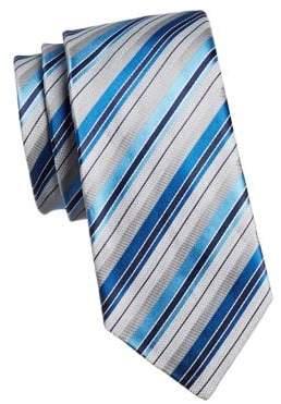 Geoffrey Beene Peaceful Stripe Slim Tie