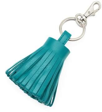 Ili ili Leather Tassel Key Chain