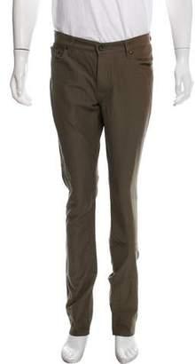 John Varvatos Flat Front Slim Pants