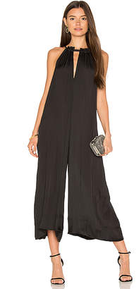 BCBGMAXAZRIA Wide Leg Jumpsuit in Black $228 thestylecure.com