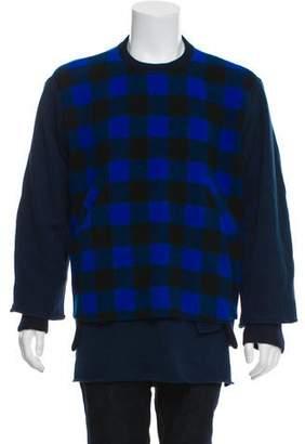 Longjourney Chunky Plaid Sweatshirt w/ Tags