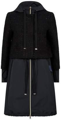 Herno Hybrid Tweed Coat