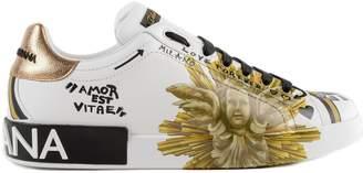 Dolce & Gabbana Printed Sneakers