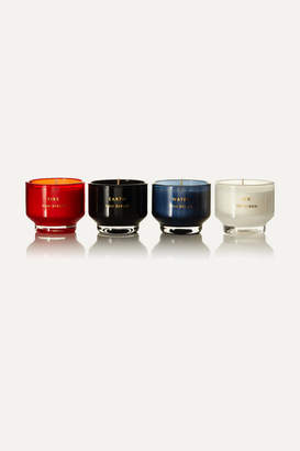 Tom Dixon Elements Set Of Four Scented Candles, 120g - one size