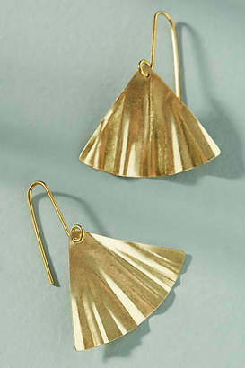 Sibilia Ginkgo Leaf Drop Earrings