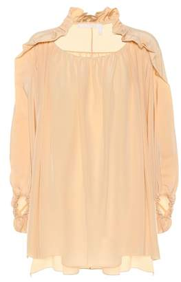 Chloé Silk crêpe de chine top