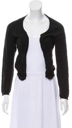 Marni Fluted Open Front Cardigan
