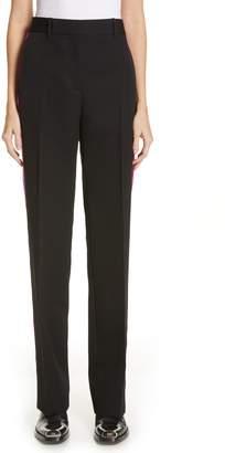 Calvin Klein Tuxedo Stripe Wool Pants