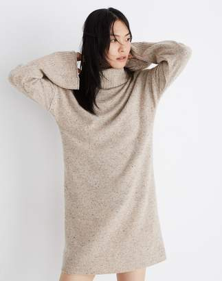 Madewell Bell-Sleeve Turtleneck Sweater-Dress