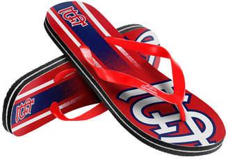Forever Collectibles St. Louis Cardinals Gradient Big Logo Flip Flops