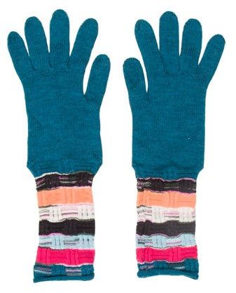 Missoni Missoni Wool Multicolor Gloves