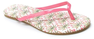 Esprit Party-E2-B Flat Sandal $20 thestylecure.com