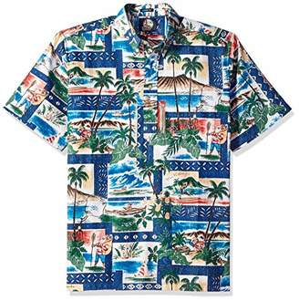 Reyn Spooner Men's Christmas Spooner Kloth Classic Pullover Shirt