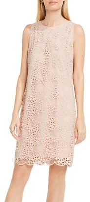 Women's Vince Camuto Lace Shift Dress $129 thestylecure.com