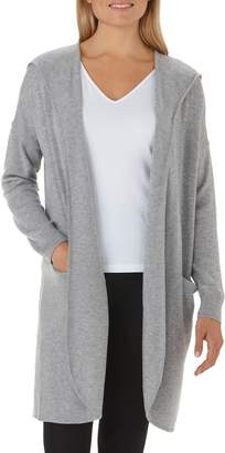 The White Company Wool & Cashmere Hooded Cardigan