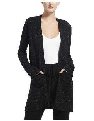 ATM Anthony Thomas Melillo Black Donegal Cashmere Cardigan