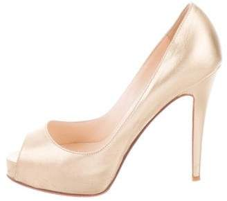 Christian Louboutin Very Prive 120 Pumps