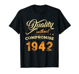 Vintage Shirt Perfectly Aged 1942 76th Years Old 76 Birthday