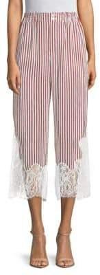 Robert Rodriguez Striped Wide-Leg Pants