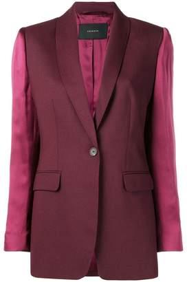 Frenken contrasting sleeves blazer