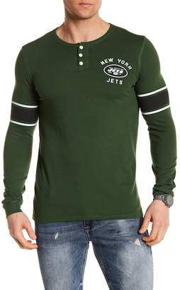Junk Food Clothing NFL New York Jets Henley