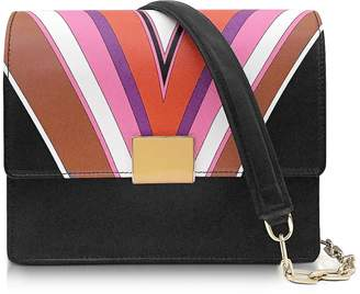 Emilio Pucci Stella Printed Shoulder Bag