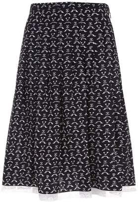 Chloé Floral Lace Skirt
