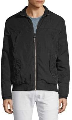 Stand Collar Full-Zip Jacket