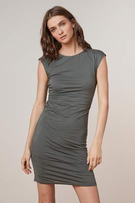 Velvet by Graham & Spencer VITTORIA GAUZY WHISPER CREW NECK DRESS