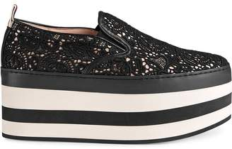 Gucci Lace platform sneakers