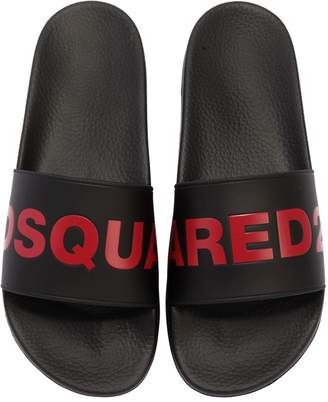 DSQUARED2 Logo Rubber Slide Sandals