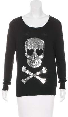 Wildfox Couture Embellished Knit Sweater
