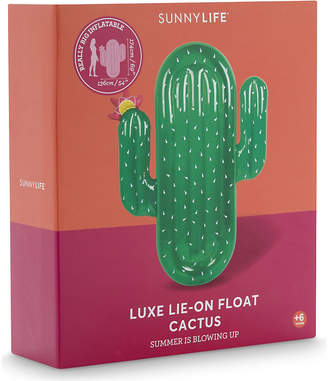 Sunnylife Luxe lie-on inflatable cactus $51 thestylecure.com