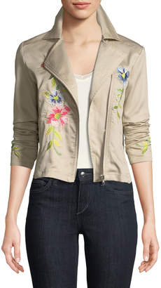 philosophy Embroidered Asymmetric Jacket
