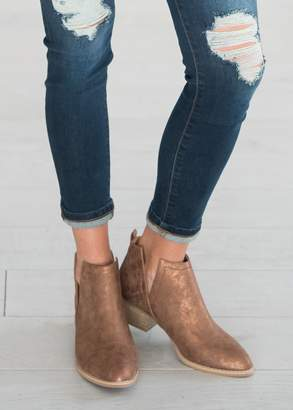 Avery Booties - Whiskey