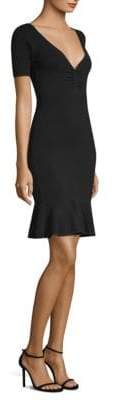 Milly Bodycon Flounce Dress