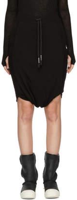 Boris Bidjan Saberi Black Drawstring Skirt
