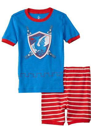 Petit Lem 2Pc Pajama Short Set