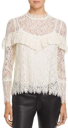 Saylor Ruffle Lace Top - 100% Exclusive