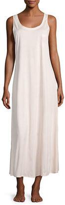 Hanro Long Cotton Tank Nightgown $145 thestylecure.com