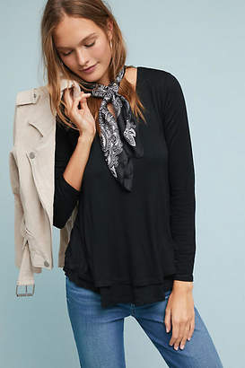 Sunday in Brooklyn Layering V-Neck Top