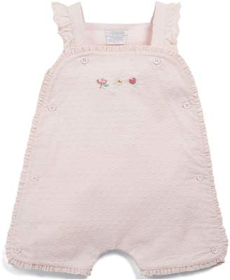 Mamas and Papas Baby Girls Dobby Romper