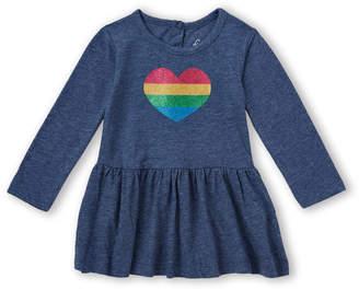 Freestyle Revolution (Infant Girls) 3-Piece Rainbow Heart Dresses & Bloomers Set