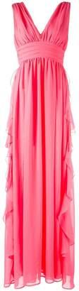 MSGM v-neck gown