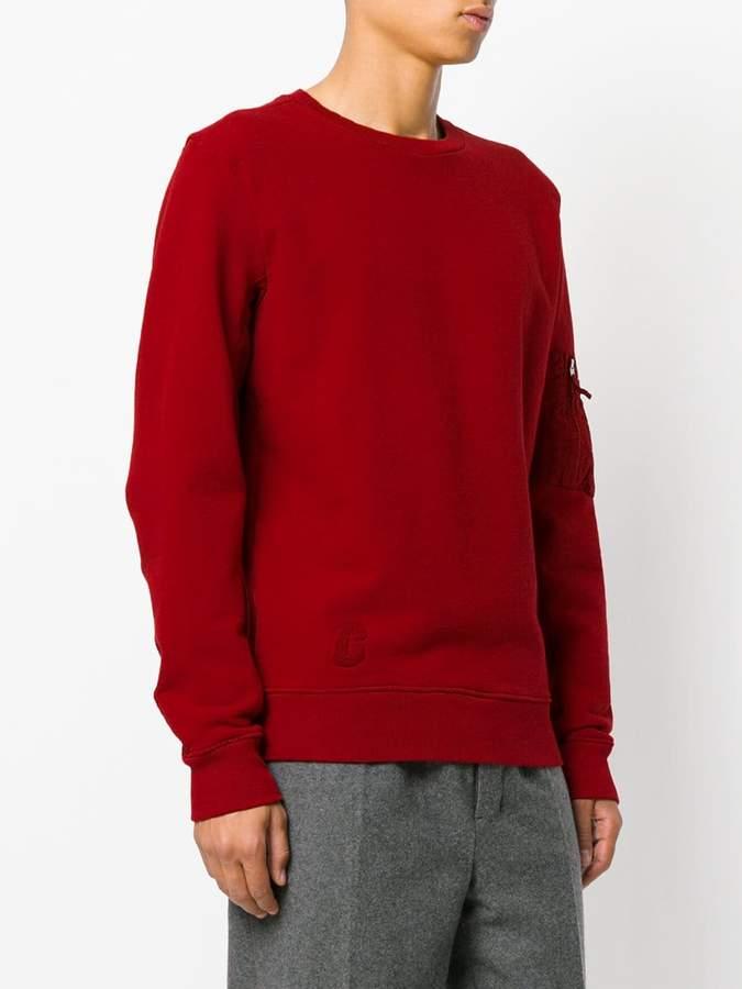 Tim Coppens patch detail sweatshirt