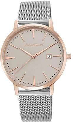 Vince Camuto Women's VC/5301TPRT Date Function Dial Silver-Tone Mesh Bracelet Watch