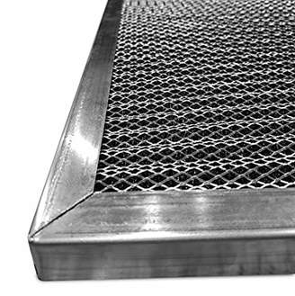 Electrostatic Air Filter Replacement (16 x 25 x 1) | Washable | 6 Stage HVAC Filter | Purify Allergens for Cleaner