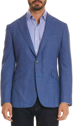 Robert Graham Men's Olsen Diamond Design Sport Coat